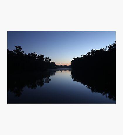 Sunrise on the River - Echuca Photographic Print