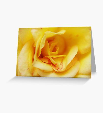 Yellow Madame Greeting Card