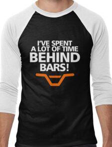 I'VE SPENT A LOT OF TIME BEHIND BARS Men's Baseball ¾ T-Shirt