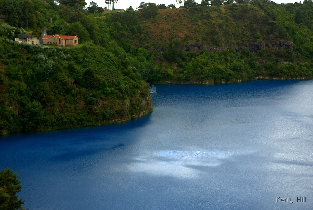 The Blue Lake by Kerry  Hill