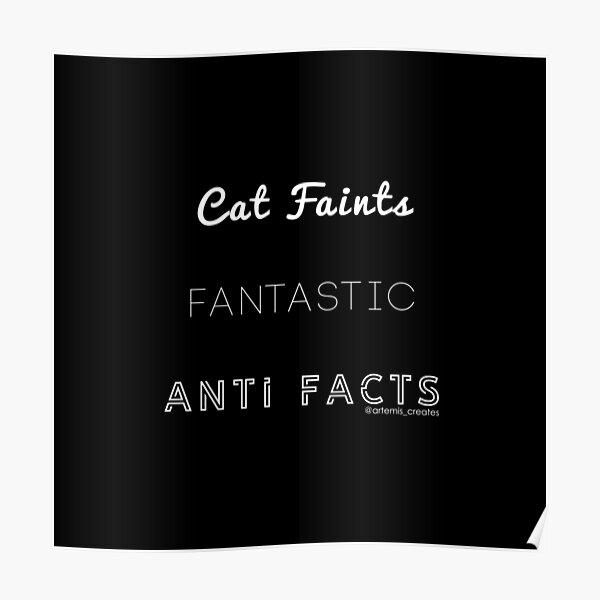 Fantastic Cat Faints Poster