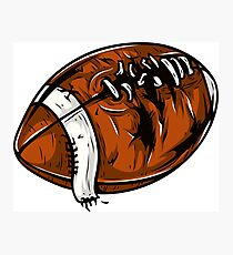 Rugby Ball Photographic Print