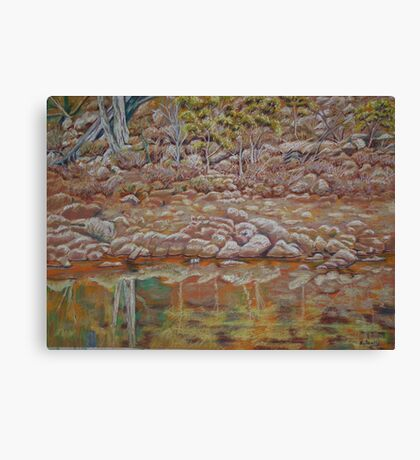 The other side of the River - Coblinine Dumbleyung Canvas Print