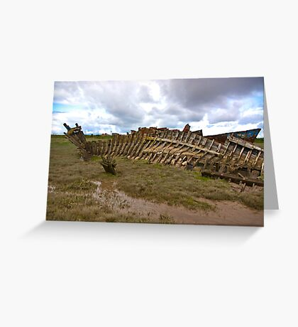 Last Resting Place Greeting Card