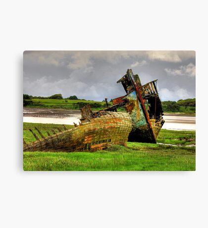 Fleetwood Wrecks Canvas Print