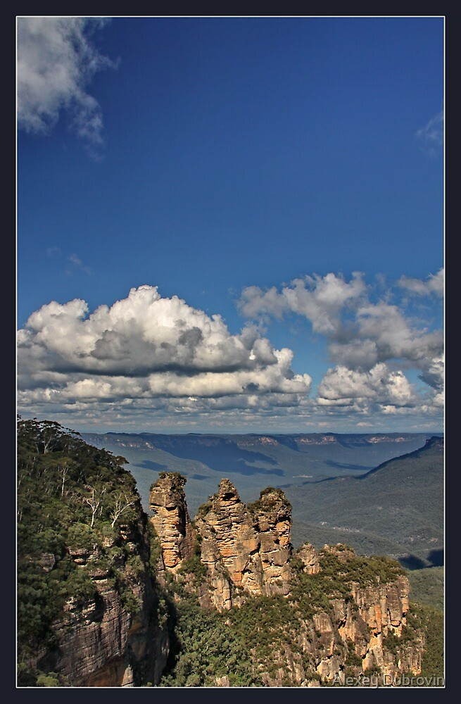 Three sisters, Blue Mountains by Alexey Dubrovin