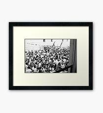 Italian party, Clerkenwell Framed Print