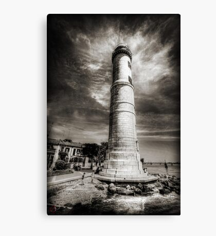 In the Shadow of the Lighthouse Canvas Print