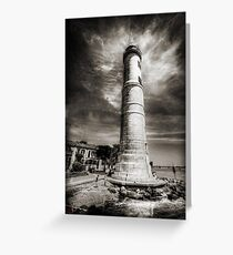 In the Shadow of the Lighthouse Greeting Card
