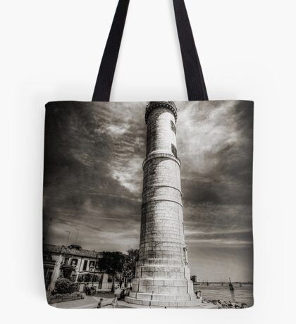 In the Shadow of the Lighthouse Tote Bag