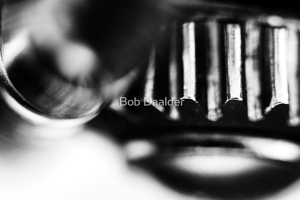Bit by Bass...(B&W) by Bob Daalder