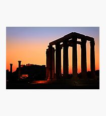 Ancient silhouettes Photographic Print
