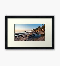 Endless Pools – Acadia National Park, Maine Framed Print