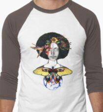 Mother Nature III Men's Baseball ¾ T-Shirt