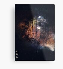 Universe Forest  Metal Print