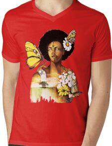 Mother Nature VIII Mens V-Neck T-Shirt
