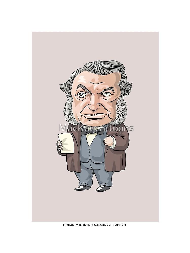 Sir Charles Tupper by MacKaycartoons