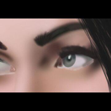 Megan's Eyes by BrightBrownEyes