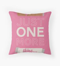 Just one more thing... Throw Pillow
