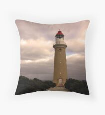 Cape du Couedic lighthouse Throw Pillow