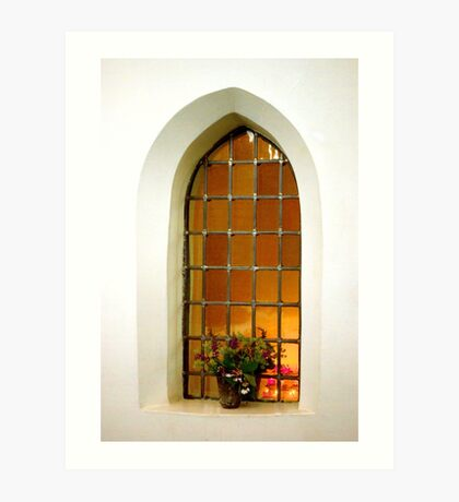 Come in and pray Art Print