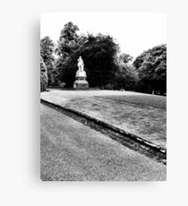 Lister monument Canvas Print