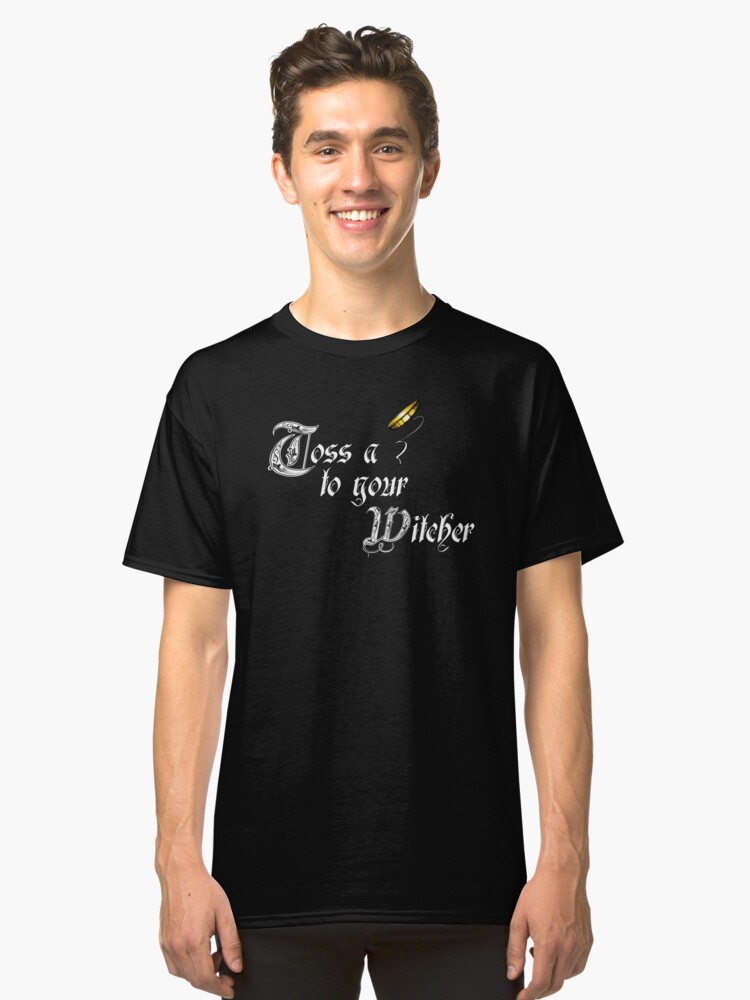 Alternate view of Toss a coin to your Witcher Classic T-Shirt