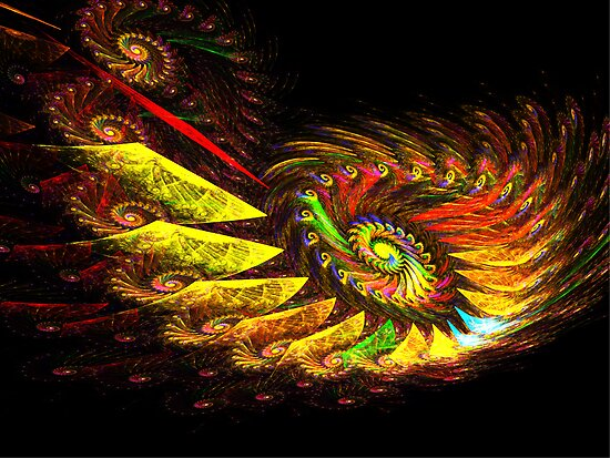 Zcone Colorful Depth Spiral (Pong 8) by barrowda