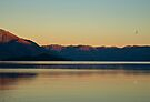 Lake Wakatipu at Dusk (compilation) by Odille Esmonde-Morgan