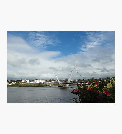Peace Bridge, Derry Photographic Print