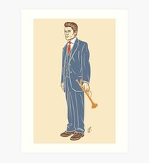 Chet Baker Art Print