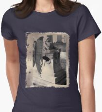 Broken Wings Womens Fitted T-Shirt
