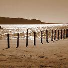 Langebaan Beach Lagoon ~ Sunset by Pieta Pieterse