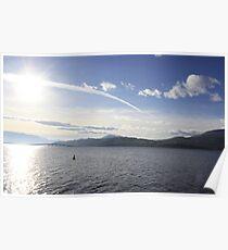 Lake Okanagan. Poster