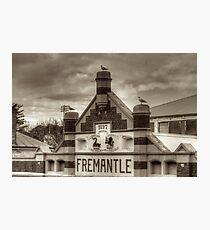 Fremantle Market Photographic Print