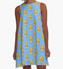 Jake with his kids - Adventure Time A-Line Dress
