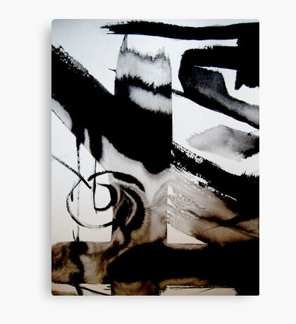 that's life ..... an abstract revival#3 Canvas Print