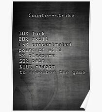 counter strike  Poster