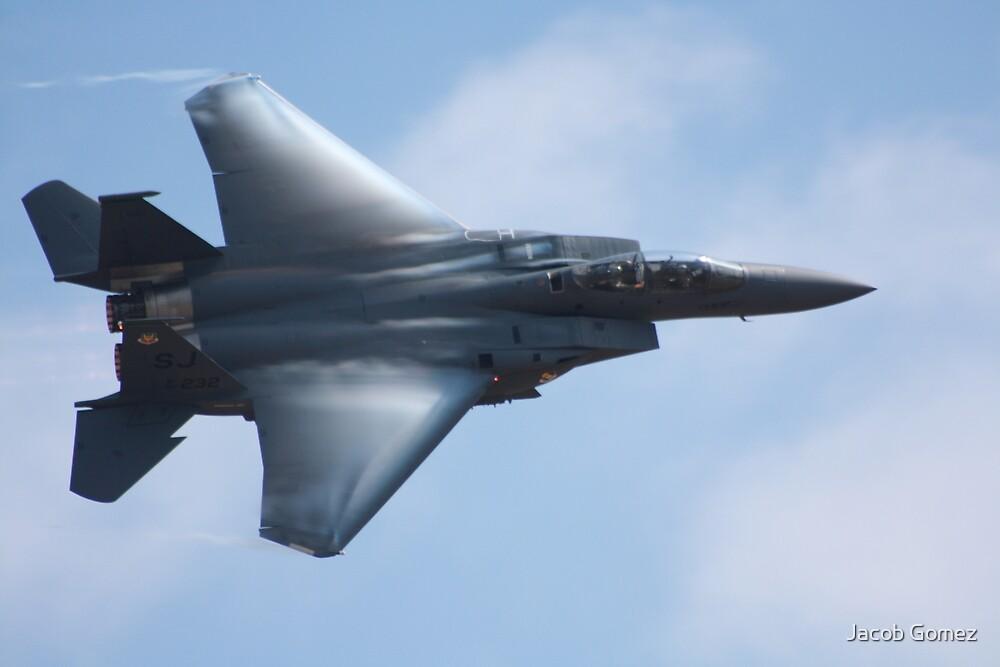 American F -15 Strike Eagle by Jacob Gomez