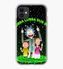 WUBBA LUBBA DUB DUB iPhone Case