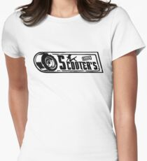 Scooter's Workshop Fitted T-Shirt