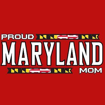 Proud Maryland Mom by geekomic