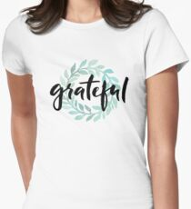 Grateful Women's Fitted T-Shirt