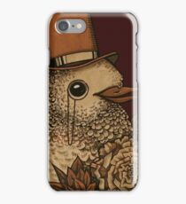 A Very Dapper Bird iPhone Case/Skin