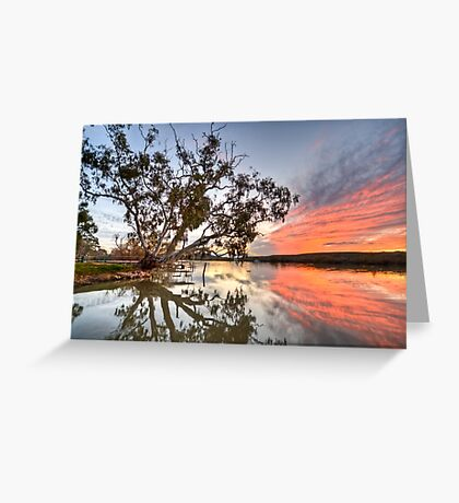 River Red Greeting Card