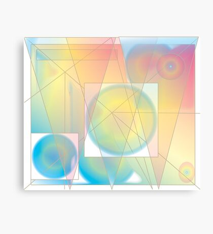 Softly Canvas Print