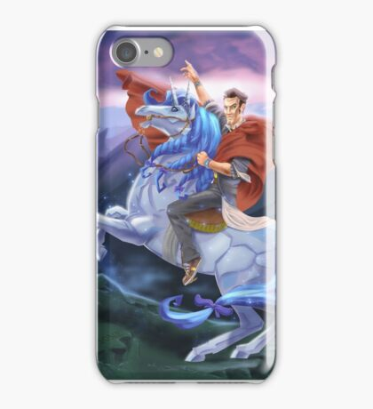 Handsome Jack Crosses the Wastes iPhone Case/Skin
