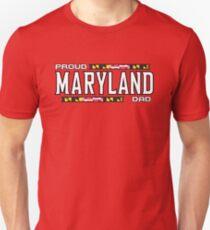 Proud Maryland Dad Unisex T-Shirt