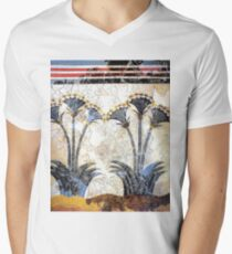 "Minoan Sea Daffodils ""Lilies"" Fresco Art T-Shirt"