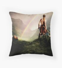 """""""Long live the beloved Saxon!"""" Throw Pillow"""
